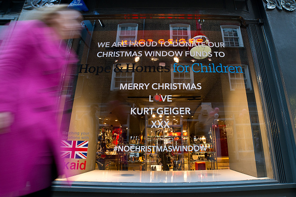 Copy Space「Kurt Geiger And Charity Hope And Homes For Children Unveil 'No Christmas Window'」:写真・画像(19)[壁紙.com]