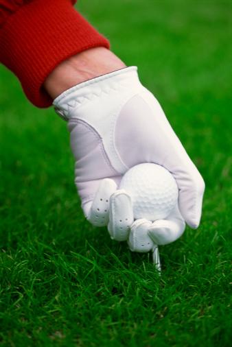 フィットネスモデル「Golfer with ball and tee」:スマホ壁紙(7)