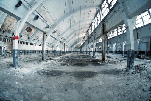 Abandoned「Old abandoned factory」:スマホ壁紙(5)