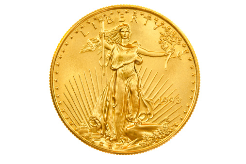 Gold「American Eagle Gold Coin Bullion Investment Obverse」:スマホ壁紙(1)