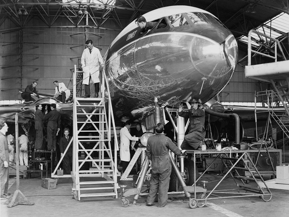 Jet Engine「de Havilland DH-106 Comet 1」:写真・画像(13)[壁紙.com]