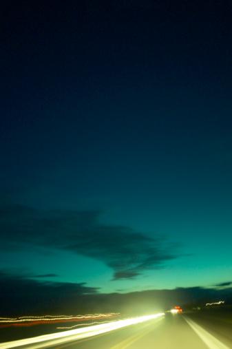 Loneliness「Highway at sunset」:スマホ壁紙(3)