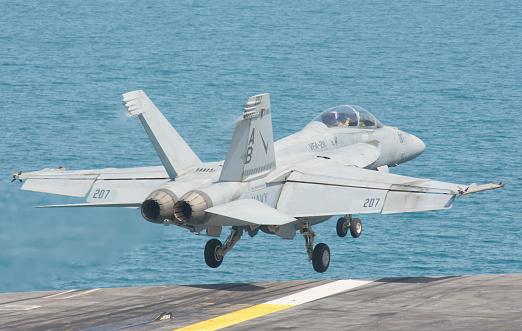 Aboard「An F/A-18F Super Hornet taking off from the flight deck.」:スマホ壁紙(9)