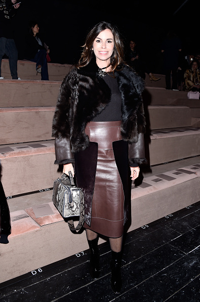 Leather Boot「Valentino  : Front Row  - Paris Fashion Week Womenswear Fall/Winter 2016/2017」:写真・画像(7)[壁紙.com]