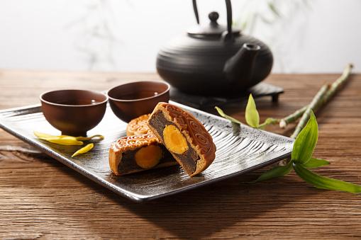 Dim Sum「Moon cake tea」:スマホ壁紙(12)