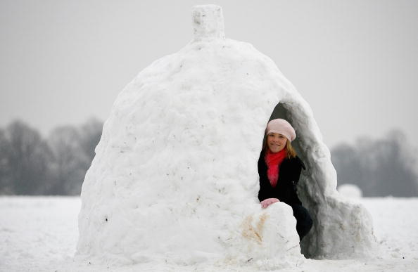 Sculpture「Heavy Snow Falls Sweep Across The UK」:写真・画像(17)[壁紙.com]
