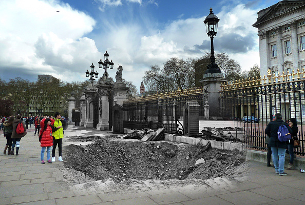 Tourism「Scenes From The London Blitz - Now and Then」:写真・画像(13)[壁紙.com]