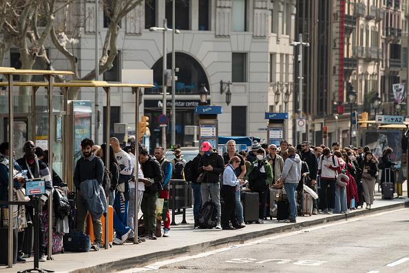 Tourism「Barcelona Impacted By Coronavirus」:写真・画像(6)[壁紙.com]