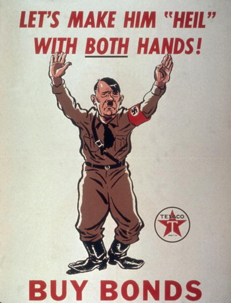 "Surrendering「'Let's Make Him ""Heil"" With Both Hands!'」:写真・画像(11)[壁紙.com]"