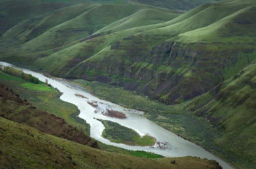 Basalt「John Day River Oregon」:スマホ壁紙(8)
