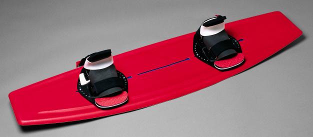 スノーボード「Red Snowboard」:スマホ壁紙(8)