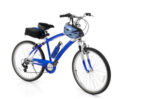 Rack「Bicycle Isolated on White」:スマホ壁紙(5)