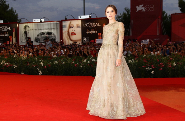 ベネチア国際映画祭「Lancia On The Red Carpet At The 68th Venice Film Festival - September 2, 2011」:写真・画像(1)[壁紙.com]