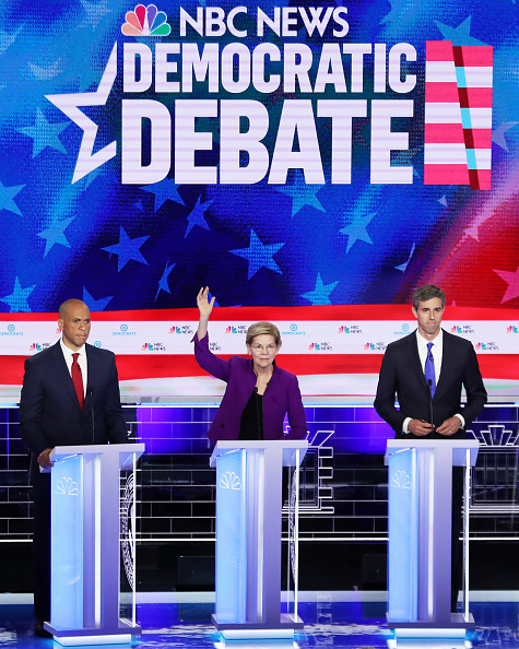 Democracy「Democratic Presidential Candidates Participate In First Debate Of 2020 Election Over Two Nights」:写真・画像(12)[壁紙.com]