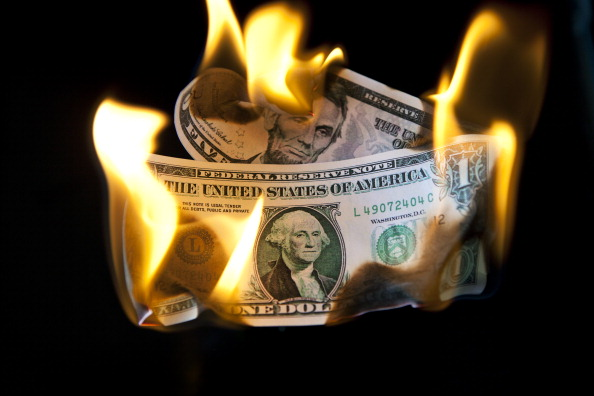 Two Objects「Dollar In Flames」:写真・画像(8)[壁紙.com]