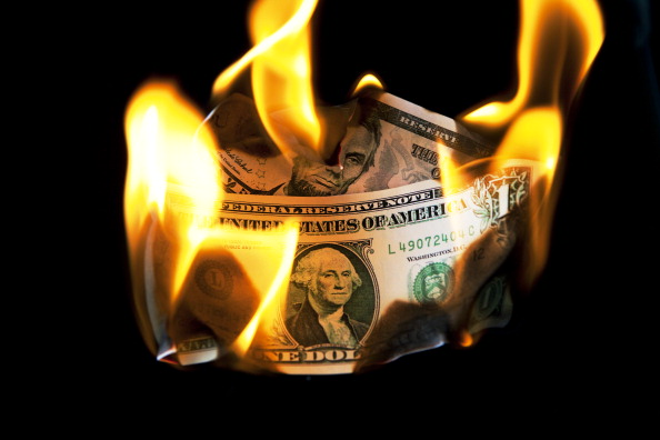 Money to Burn「Dollar In Flames」:写真・画像(1)[壁紙.com]