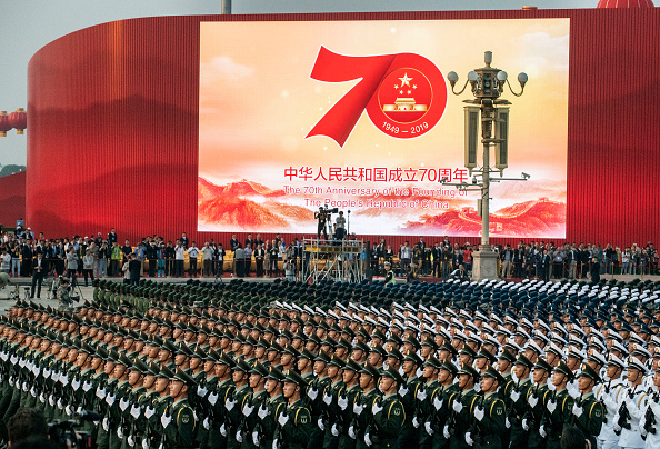 Rehearsal「70th Anniversary Of The Founding Of The People's Republic Of China - Military Parade & Mass Pageantry」:写真・画像(12)[壁紙.com]