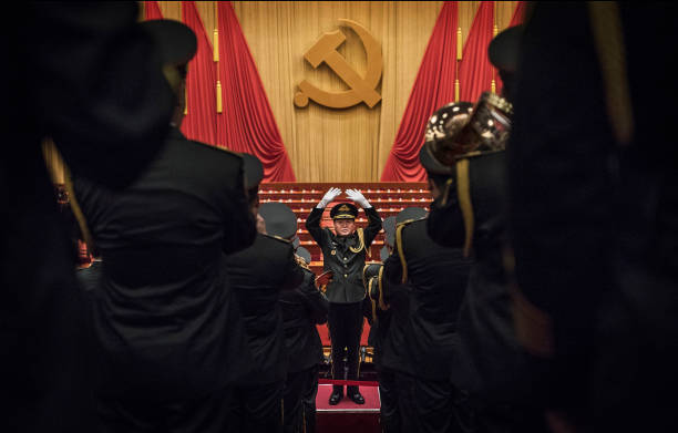 Military「19th National Congress Of The Communist Party Of China (CPC) - Opening Ceremony」:写真・画像(19)[壁紙.com]