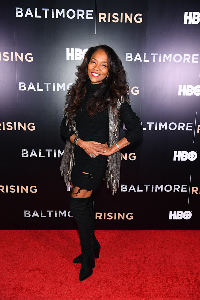 Sonja Sohn「Red Carpet Premiere of HBO Documentary Baltimore Rising」:写真・画像(16)[壁紙.com]