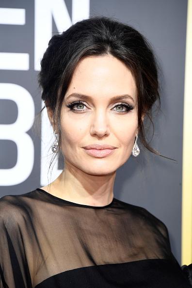 アンジェリーナ・ジョリー「75th Annual Golden Globe Awards - Arrivals」:写真・画像(12)[壁紙.com]