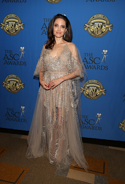 アンジェリーナ・ジョリー「32nd Annual American Society Of Cinematographers Awards」:写真・画像(9)[壁紙.com]