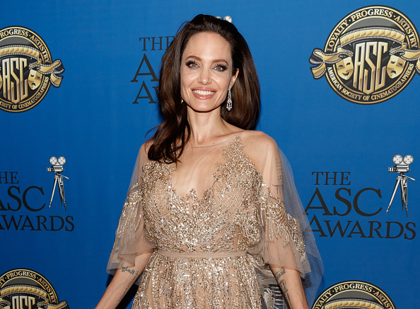 Angelina Jolie「32nd Annual American Society Of Cinematographers Awards」:写真・画像(3)[壁紙.com]