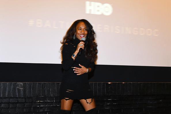 Sonja Sohn「Red Carpet Premiere of HBO Documentary Baltimore Rising」:写真・画像(18)[壁紙.com]