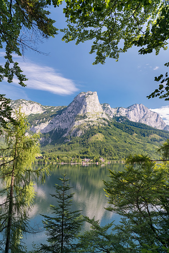 Salzkammergut「Mountain Backenstein, Lake Grundlsee, Austria」:スマホ壁紙(10)