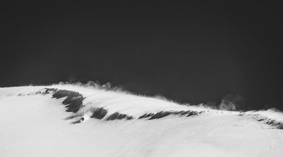 スノーボード「Windy day in the wild」:スマホ壁紙(6)