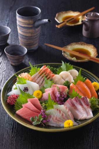 Sake「Eight Assorted Sashimi」:スマホ壁紙(19)