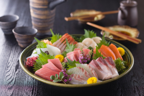 Sake「Eight Assorted Sashimi」:スマホ壁紙(18)