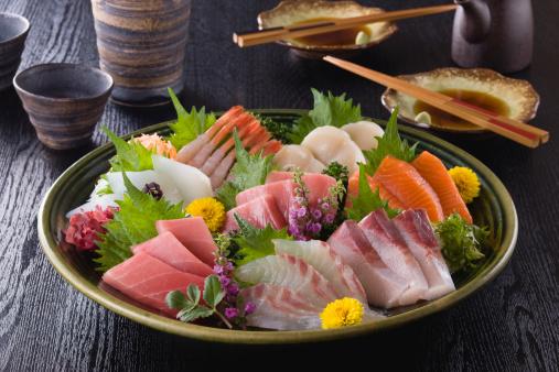 Sake「Eight Assorted Sashimi」:スマホ壁紙(17)
