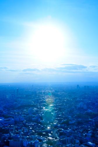 Japan「Crowded Buildings and Sunshine」:スマホ壁紙(19)