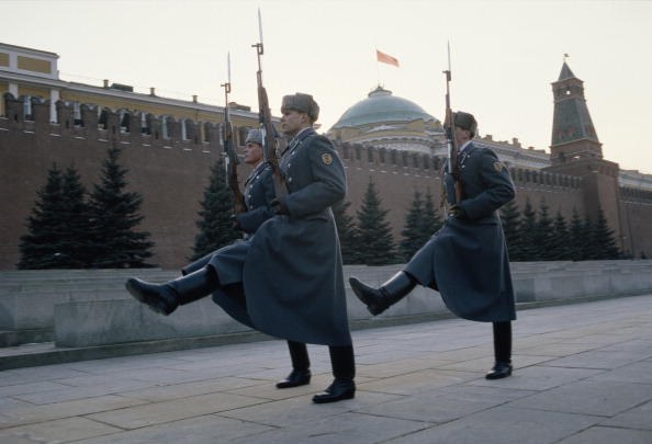 Russian Military「Soldiers At Kremlin」:写真・画像(2)[壁紙.com]