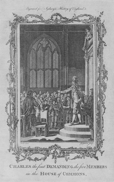 17th Century「Charles I Demanding The Five Members In The House Of Commons」:写真・画像(2)[壁紙.com]