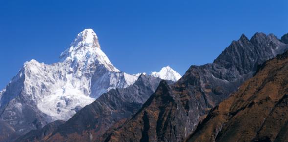 Ama Dablam「Detailed view of Ama Dablam from Syangboche. Ama Dablam, Everest National Park, Sagarmatha National Park, Nepal」:スマホ壁紙(12)