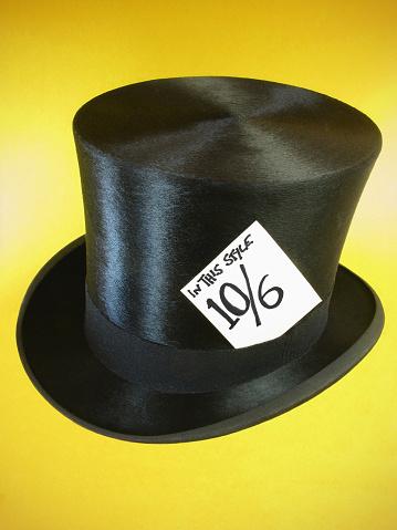 シルクハット「「Mad Hatter の帽子ます。」:スマホ壁紙(8)