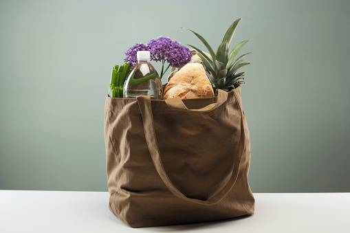 Loaf of Bread「Groceries in Tote Bag」:スマホ壁紙(13)