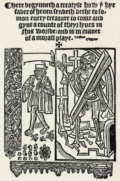 Elizabethan Style「Everyman - morality tale - first page - Britwell copy」:写真・画像(10)[壁紙.com]