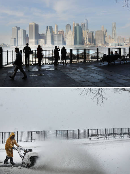 From Balmy To Snow Storm: Extreme 48-Hour Weather Swing In New York City:ニュース(壁紙.com)