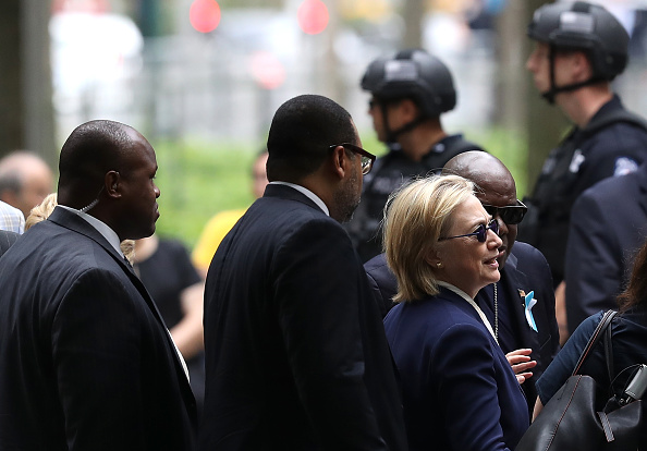 US Democratic Party 2016 Presidential Candidate「15th Anniversary Of 9/11 Attacks Commemorated At World Trade Center Memorial Site」:写真・画像(5)[壁紙.com]
