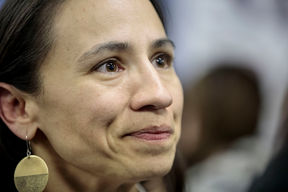Sharice Davids「Kansas Congressional Candidate Sharice Davids Holds Rally In Overland Park, Kansas」:写真・画像(13)[壁紙.com]