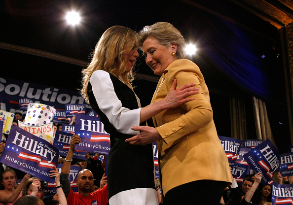 Super Tuesday「Hillary Clinton Hosts Super Tuesday Primary Night Event In NYC」:写真・画像(6)[壁紙.com]