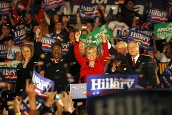 2008「Hillary Clinton Holds Primary Night Event In Columbus」:写真・画像(2)[壁紙.com]