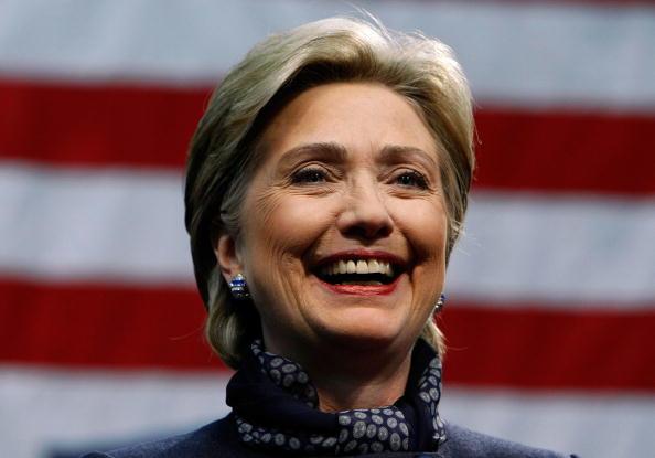Justin Sullivan「Hillary Clinton Campaigns Ahead Of Super Tuesday」:写真・画像(13)[壁紙.com]