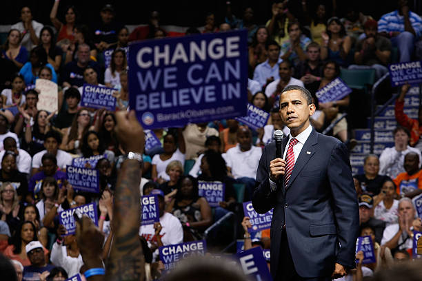 Barack Obama Continues Campaign Swing Through Florida:ニュース(壁紙.com)