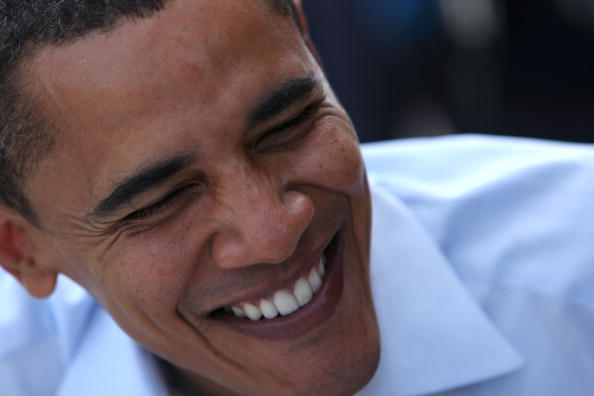 Oregon - US State「Barack Obama Campaigns Throughout Oregon Ahead Of State's Primary」:写真・画像(12)[壁紙.com]