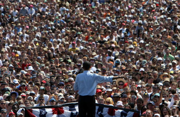 Oregon - US State「Barack Obama Campaigns Throughout Oregon Ahead Of State's Primary」:写真・画像(19)[壁紙.com]
