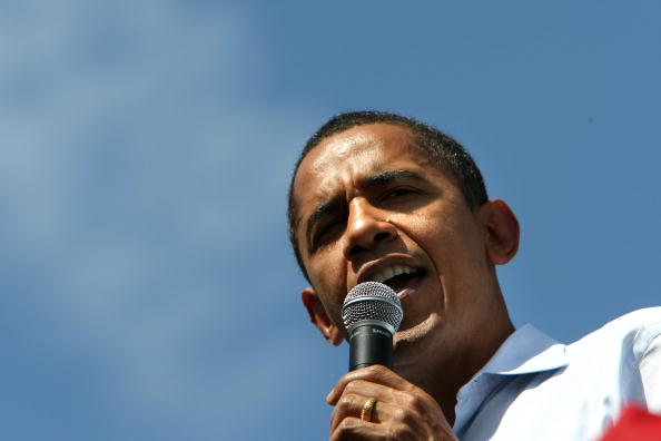 Oregon - US State「Barack Obama Campaigns Throughout Oregon Ahead Of State's Primary」:写真・画像(10)[壁紙.com]