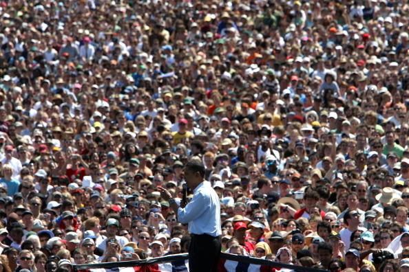 Oregon - US State「Barack Obama Campaigns Throughout Oregon Ahead Of State's Primary」:写真・画像(6)[壁紙.com]